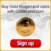 Buy South African Gold Krugerrand coins with Goldbroker.com