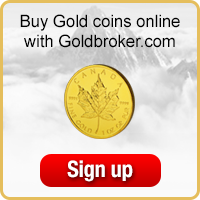 Buy gold coins online with Goldbroker.com
