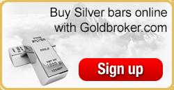 Buy silver bars online with Goldbroker.com