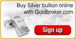 Buy silver bullion online with Goldbroker.com
