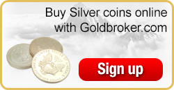 Buy silver coins online with Goldbroker.com