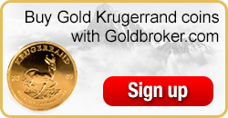 Buy South African Gold Krugerrand coins with Goldbroker.com