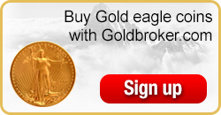 Buy American Gold Eagle coins with Goldbroker.com
