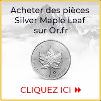 Acheter des pièces d'argent Silver Maple Leaf sur Goldbroker.com
