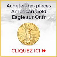Acheter des pièces d'or Gold Eagle sur Goldbroker.com