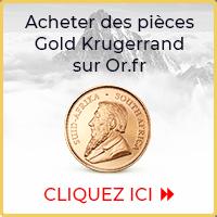 Acheter des pièces d'or Gold Krugerrand sur Goldbroker.com