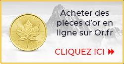 Acheter des pièces d'or - Or.fr