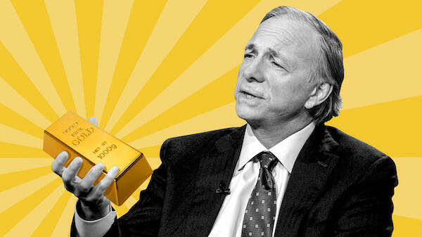Ray Dalio: Gold Will Be a Top Investment During Upcoming 'Paradigm Shift' in Markets