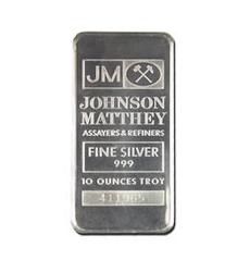 10 ounces  Silver Bar - NTR Metals