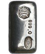 1000 ounces  Silver Bar - Comptoir Lyon-Alemand