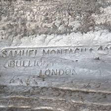 Lingotto d'argento  1000 once - Samuel Montagu & Co Ltd
