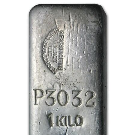 Lingote de Plata  1000 onzas - Mocatta & Goldsmid Ltd
