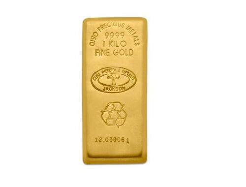 Lingote de Oro  1 kilogramo - Ohio Precious Metals