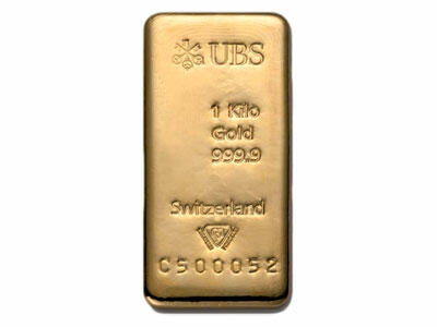 1 kilogram  Gold Bar - UBS