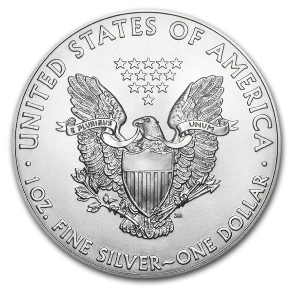 1 ounce Silver American Silver Eagle - Monster box of 500 - 2014 - US Mint