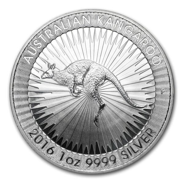 1 ounce Silver Kangaroo - Monster box of 250 - 2016 - Perth Mint