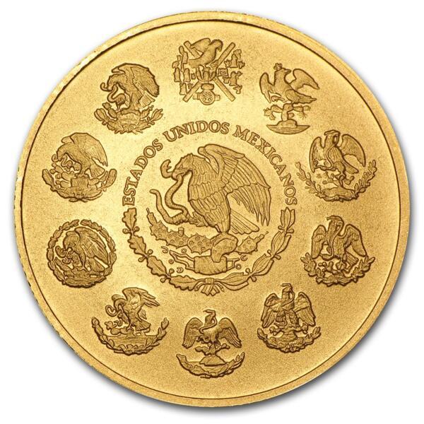 1 ounce Gold Libertad - Roll of 10 - 2016 - Banco de Mexico