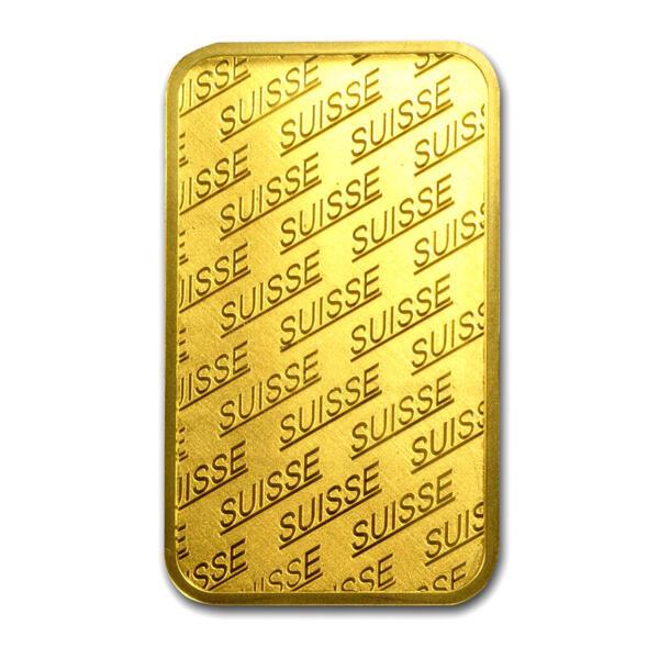 1 ounce PAMP Design Gold Bar - PAMP