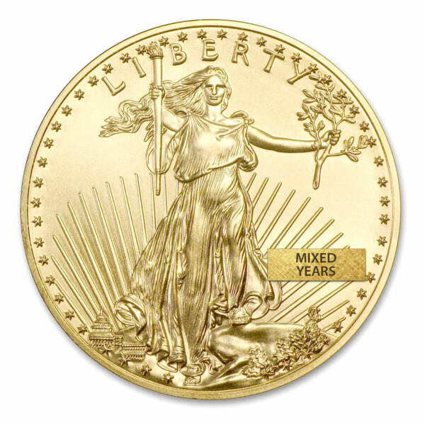 1 ounce Gold American Eagle - US Mint