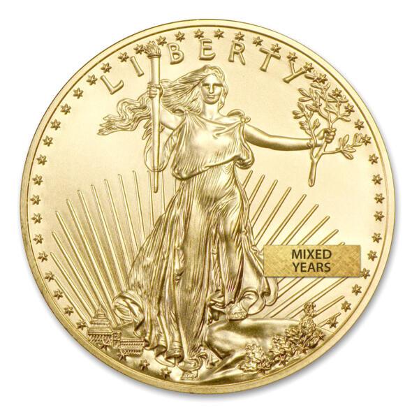Moneta d'oro American Eagle 1 oncia - US Mint