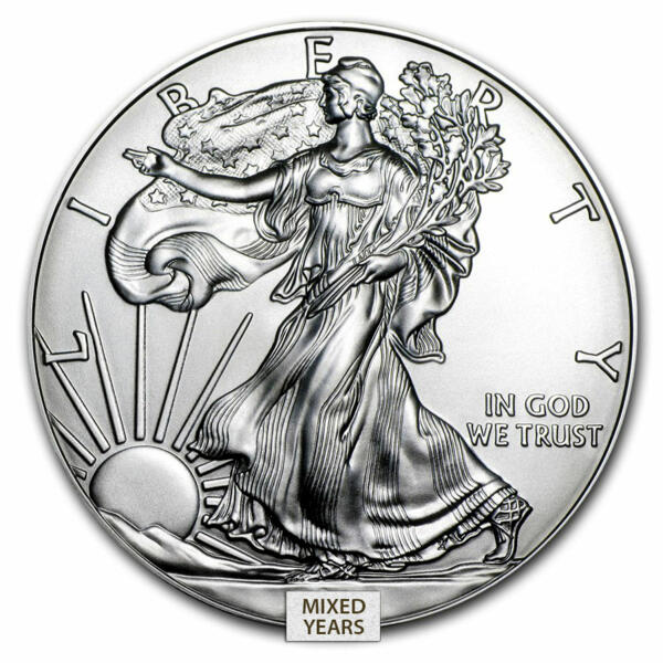Moneta d'argento American Eagle 1 oncia - US Mint