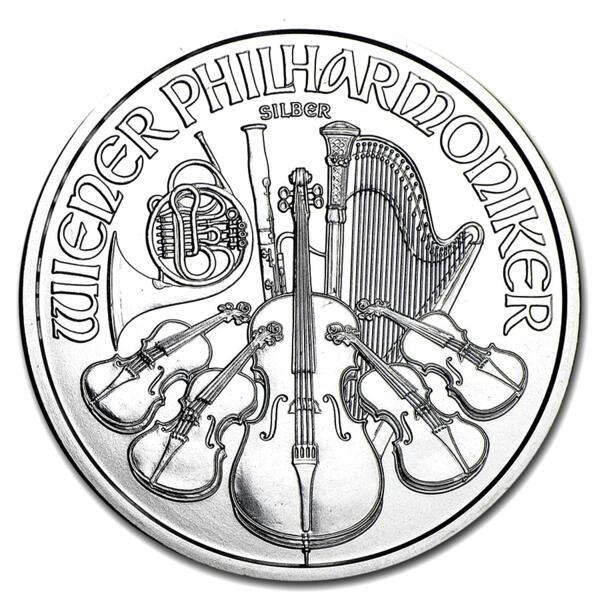 Moneta d'argento Austrian Philarmonic 1 oncia - Austrian Mint