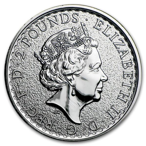 Buy 1 Oz Silver Britannia Monster Box Of 500 Silver