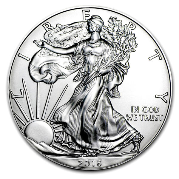 1 ounce Silver American Eagle - Monster box of 500 - 2016 - US Mint