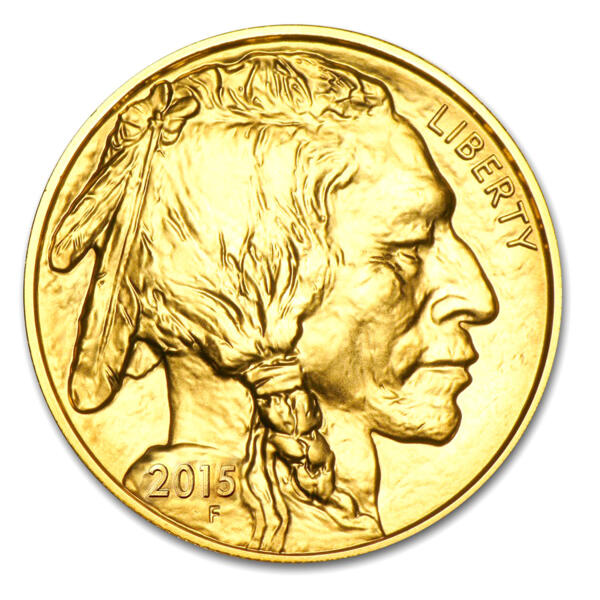 1 ounce Gold Buffalo - Roll of 10 - 2015 - US Mint