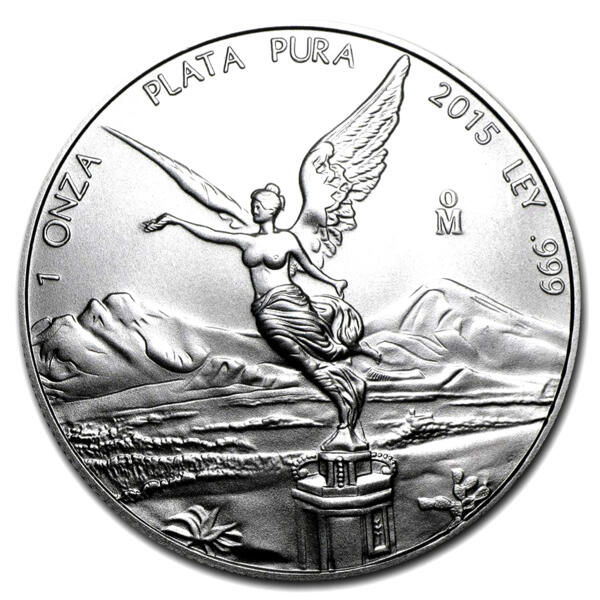 1 ounce Silver Libertad - Monster box of 450 - 2015 - Banco de Mexico