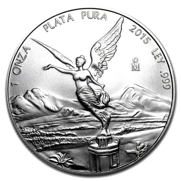 1 ounce Silver Libertad - Monster box of 450 - 2015 - Banco de Mexico