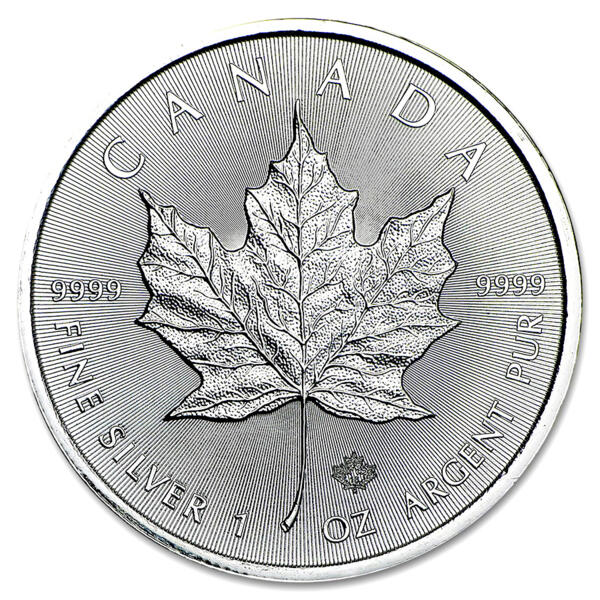 Moneta d'argento Maple Leaf 1 oncia - Monsterbox di 500 - 2016 - Royal Canadian Mint