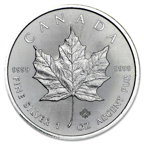 Moneda de Plata Maple Leaf 1 onza - Monsterbox de 500 - 2016 - Royal Canadian Mint