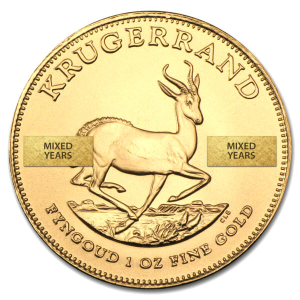 Moneta d'oro Krugerrand 1 oncia - South African Mint