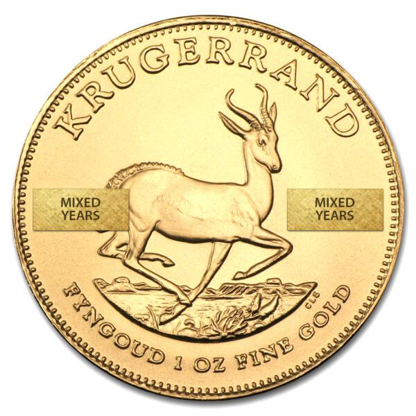 1 ounce Gold Krugerrand - South African Mint