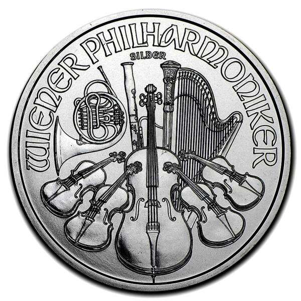 1 ounce Silver Philharmonic - Monster box of 500 - 2016 - Austrian Mint