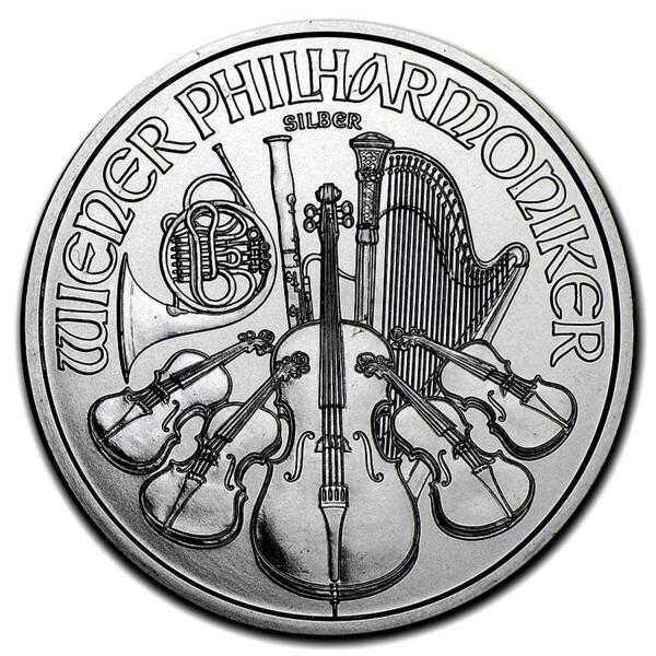 Moneda de Plata Philharmonic 1 onza - Monsterbox de 500 - 2016 - Austrian Mint