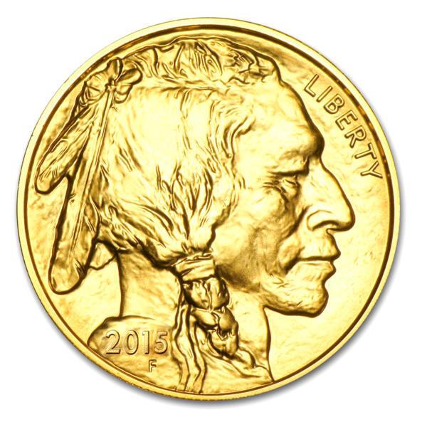 1 ounce Gold Buffalo - Roll of 10 - 2016 - US Mint