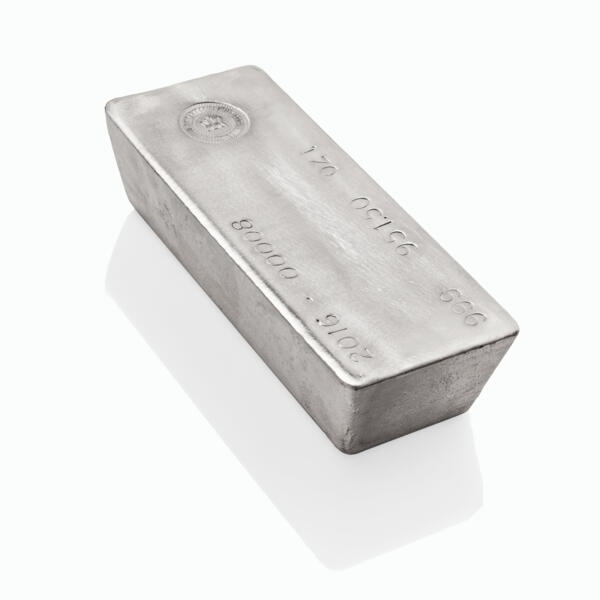 1000 ounces  Silver Bar - Royal Canadian Mint