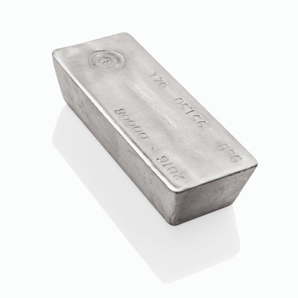 1000 ounces  Silver Bar - Royal Canadian Mint