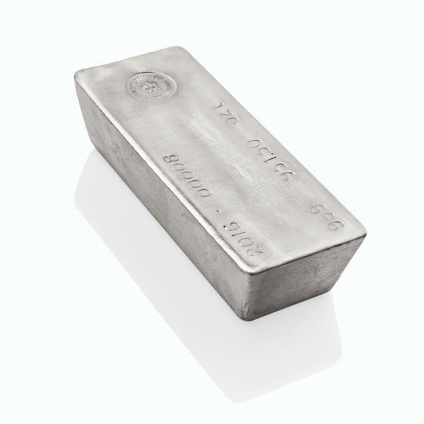 1000 ounces  Silver Bar - State Refineries