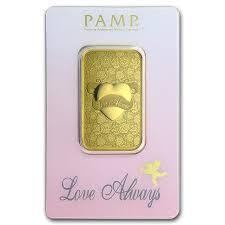 1 ounce love always Gold Bar - PAMP