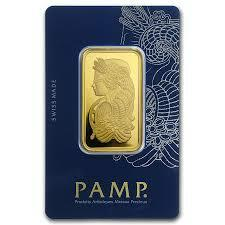1 kilogram fortuna Gold Bar - PAMP