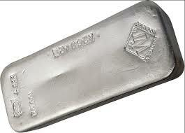 1000 ounces  Silver Bar - Johnson Matthey