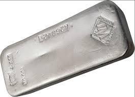 Lingotto d'argento  1000 once - Johnson Matthey