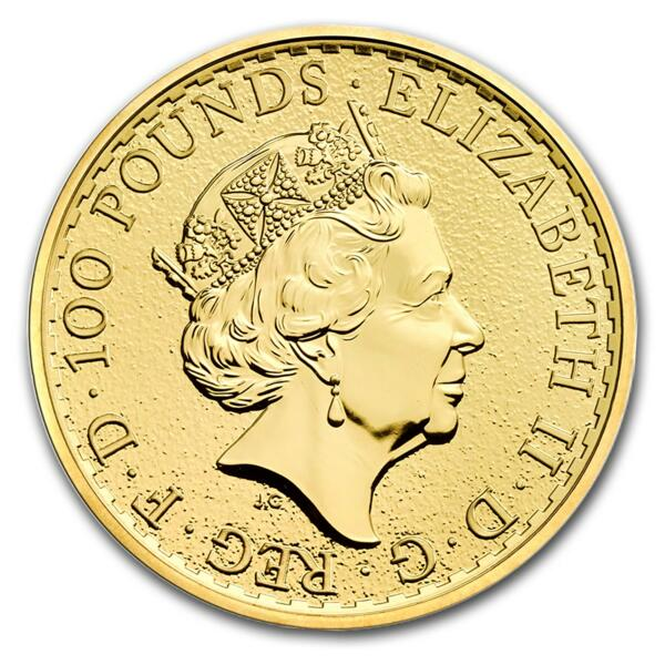 1 ounce Gold Britannia - Roll of 10 - 2017 - The Royal Mint