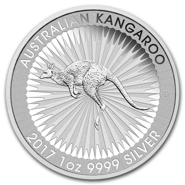 1 ounce Silver Kangaroo - Monster box of 250 - 2017 - Perth Mint