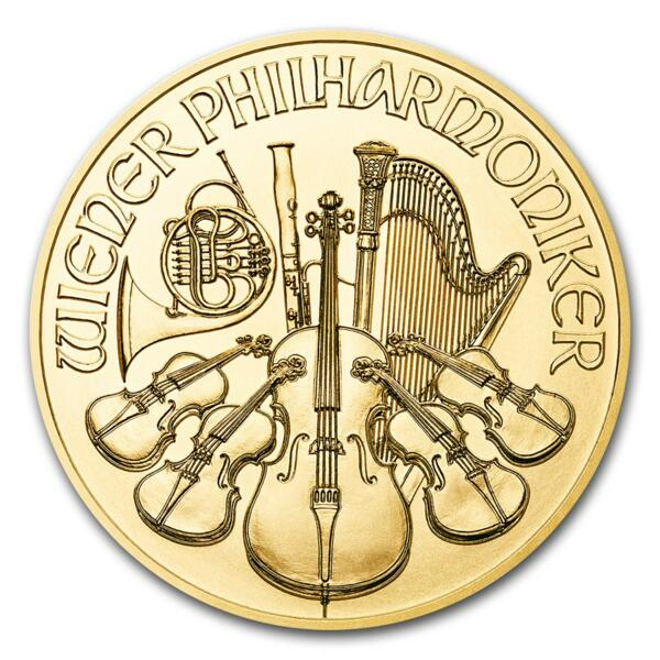 1 ounce Gold Philharmonic - Roll of 10 - 2017 - Austrian Mint