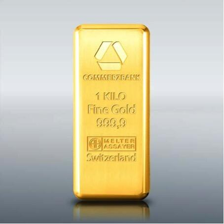 1 kilogram  Gold Bar - Commerzbank