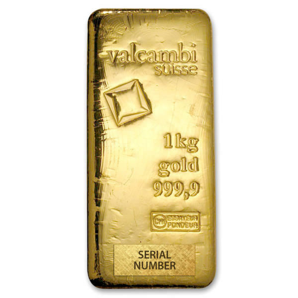 Buy Valcambi 1 Kilo Gold Bullion Bar Buy Gold Online